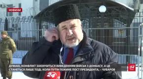 Людей прийшло стільки, скільки планували заздалегідь, – Чубаров про незаконні вибори в Криму