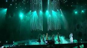 Евровидение 2010 - Kristina Pelakova(Словакия) вторая репетиция
