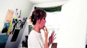 Натали Айриш и её картины написанные губами