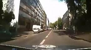 Полицейские догнали байкера