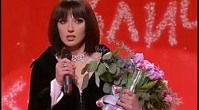 Оксана Марченко на награждении премии Viva!