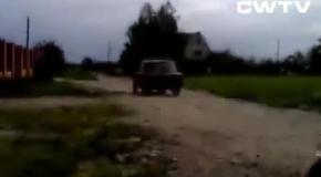 Флинстоуны из России - смешное видео