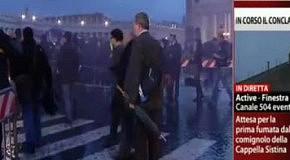 FEMEN на выборах Папы Римского в Ватикане