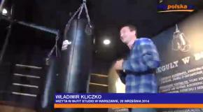 Владимир Кличко открыл тренажерный зал в Варшаве