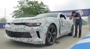 Журналист разбил новый Chevrolet Camaro на тест-драйве