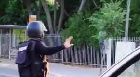 Розыгрыш полиции