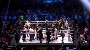 Болельщики избили кикбоксера прямо в ринге