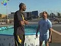 Kobe Jumps Over Pool Of Snakes with JACKASS
