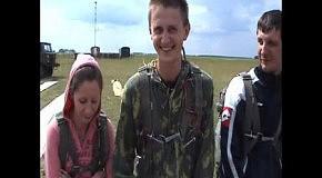 Бородянка дроп зона, первый прыжок с парашютом!