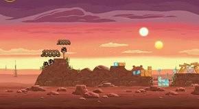 Прохождение Angry Birds: Star Wars 5 Tatooine