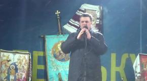 Олег Тягнибок. Виступ на Майдані увечері 21 січня