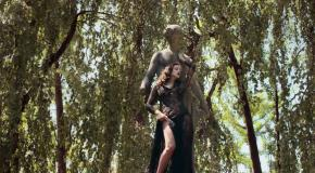 Irina Shayk for Blumarine's Fall 2017 Campaign