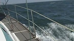 Чёрное море с Яхты(открытое море)