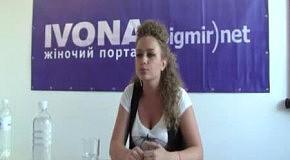 Яна Соломко в гостях редакции IVONA bigmir)net (часть 4)