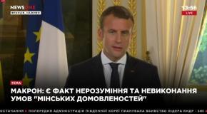Макрон: Аннексия Крыма была незаконной