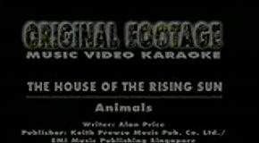 Animals - The House Of The Rising Sun