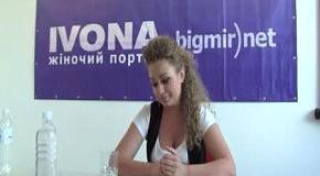 Яна Соломко в гостях редакции IVONA bigmir)net (часть 3)