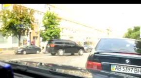 Автомобиль с мэром Кличко нарушил ПДД