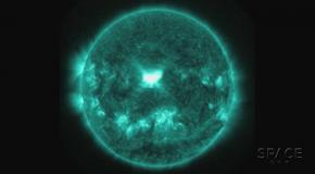 На Солнце произошла самая крупная вспышка с 2012 года