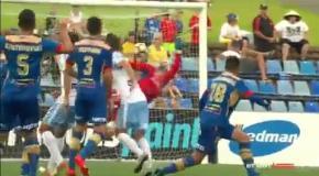 Очередной гол Милоша Нинковича в чемпионате Австралии