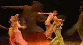 Спортивный танец в восточном стиле