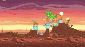 Прохождение Angry Birds: Star Wars 7 Tatooine