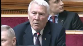 Виступ Олександра Шевченка на сесії Верховної Ради України
