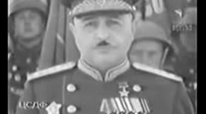 Парад победы 1945: проход маршала Баграмяна