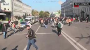 Марш мира в Москве 21.09.2014