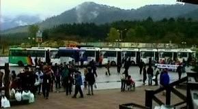 КНДР требует пустить южнокорейских туристов в Кымгансан