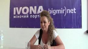Яна Соломко в гостях редакции IVONA bigmir)net (часть 5)
