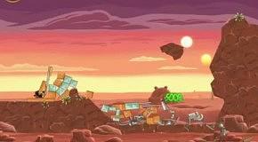 Прохождение Angry Birds: Star Wars 8 Tatooine