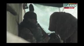 Боевики в Славянске используют российский пулемет Корд