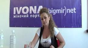 Яна Соломко в гостях редакции IVONA bigmir)net (часть 2)