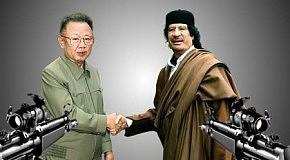Диктатор Ким Чен Ир  Каддафи похож на друг друга