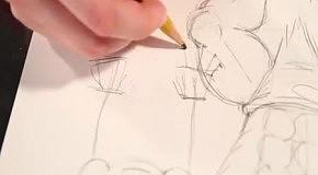 КарикатурА: Урок 2 - рисуем руки, ноги