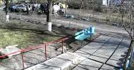 Патрульная полиция избила человека в Киеве