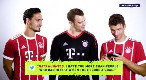 Звезды FIFA прочитали комментарии о себе
