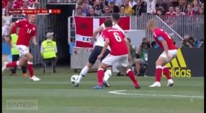 Дания – Франция: видео голов и обзор матча ЧМ-2018