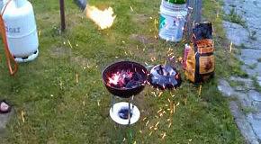 Как надо розжигать гриль
