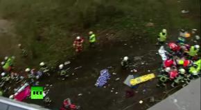 В Бельгии разбился автобус с российскими школьниками