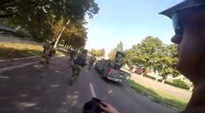 Вхождение батальона Шахтерск в Марьинку
