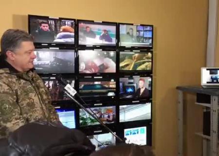 Охрана Порошенко пригрозила прострелить ноги корреспондентам