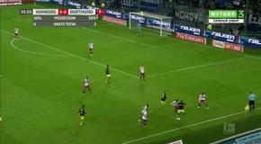 Финт Ярмоленко в матче с Гамбургом