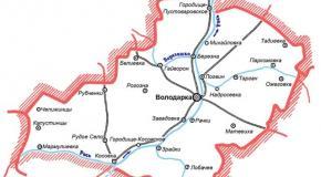 Карта Володарский район, Киевская область, Украина