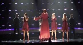 Евровидение 2010 - Hera Bjork(Исландия) вторая репетиция
