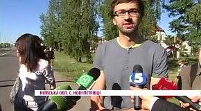 Как Янукович журналистов в Межигорье встречал