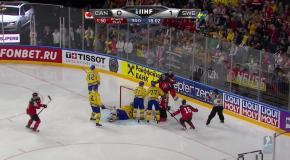 Канада - Швеция Видео шайб
