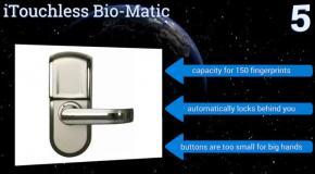 Восемь лучших биометрических дверных замков