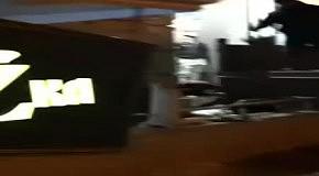 """В центре Одессы """"доброжелатели"""" залили вход в ночной клуб бетоном"""